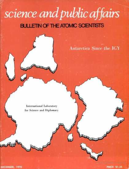 Bulletin of the Atomic Scientists - December 1970