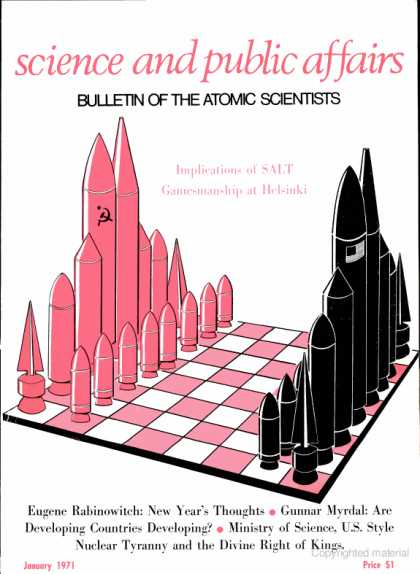 Bulletin of the Atomic Scientists - January 1971