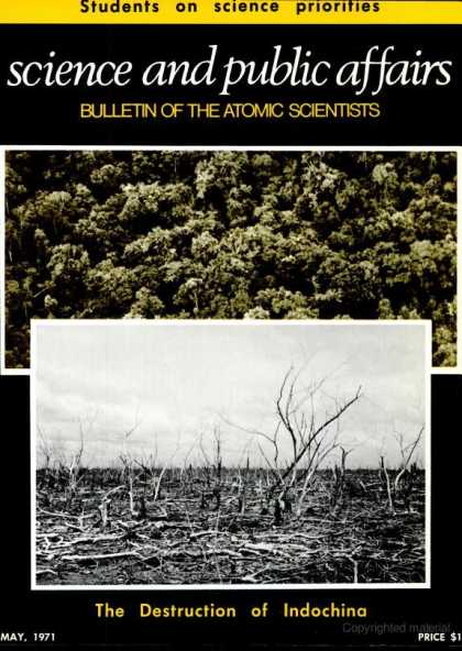 Bulletin of the Atomic Scientists - May 1971