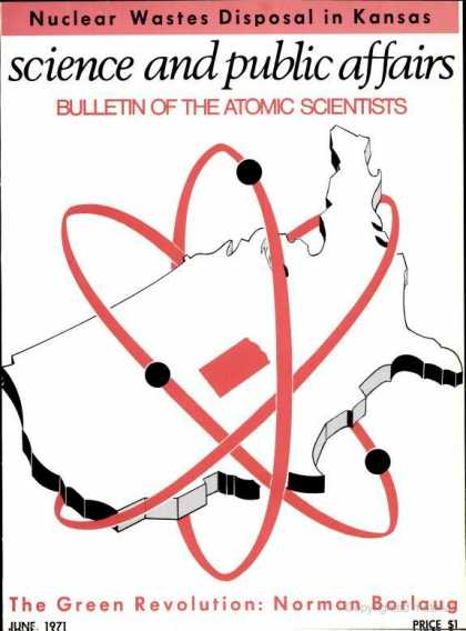 Bulletin of the Atomic Scientists - June 1971