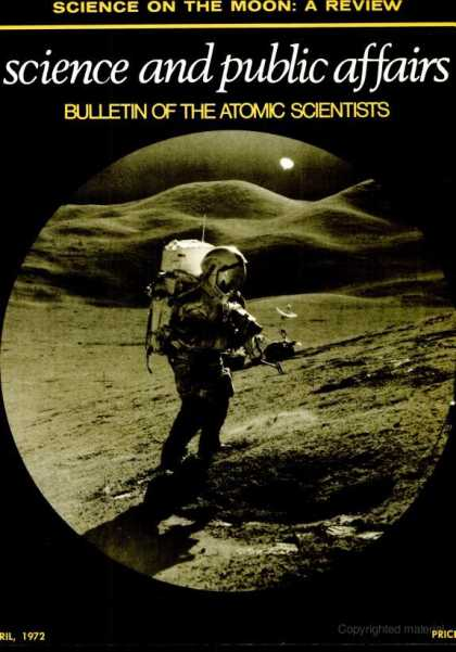 Bulletin of the Atomic Scientists - April 1972