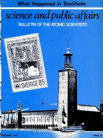 Bulletin of the Atomic Scientists - September 1972