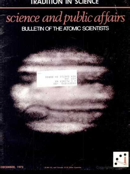 Bulletin of the Atomic Scientists - December 1973