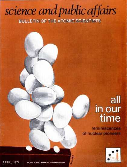 Bulletin of the Atomic Scientists - April 1974