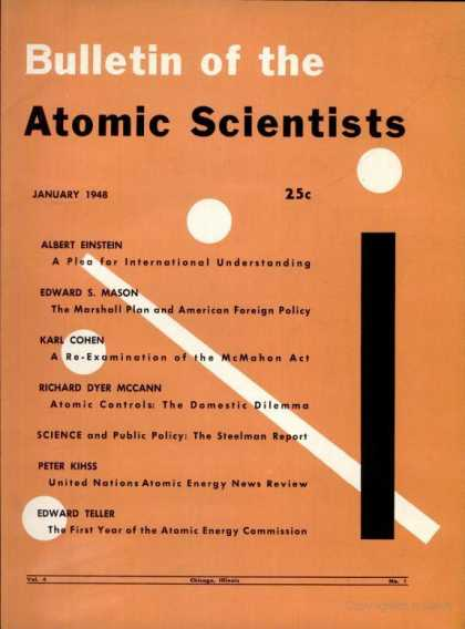 Bulletin of the Atomic Scientists - January 1948