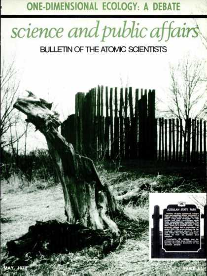 Bulletin of the Atomic Scientists - May 1975