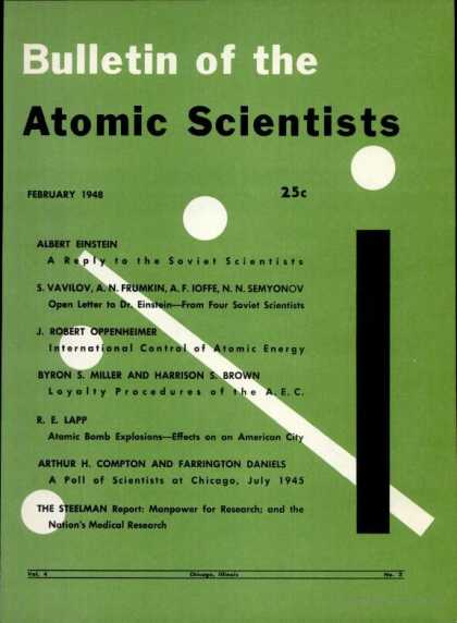 Bulletin of the Atomic Scientists - February 1948