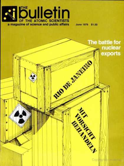 Bulletin of the Atomic Scientists - June 1976