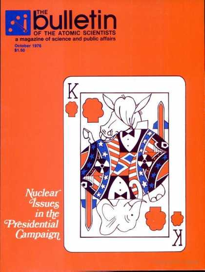 Bulletin of the Atomic Scientists - October 1976