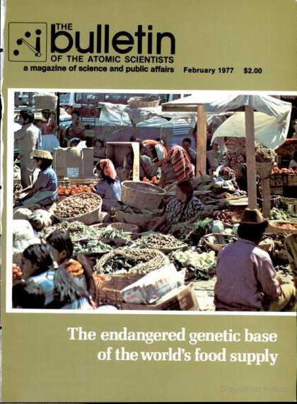 Bulletin of the Atomic Scientists - February 1977