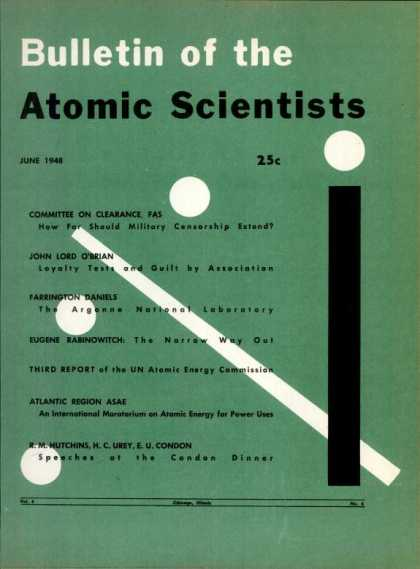 Bulletin of the Atomic Scientists - June 1948