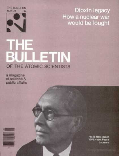 Bulletin of the Atomic Scientists - May 1979