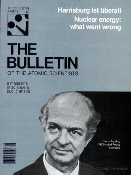 Bulletin of the Atomic Scientists - June 1979