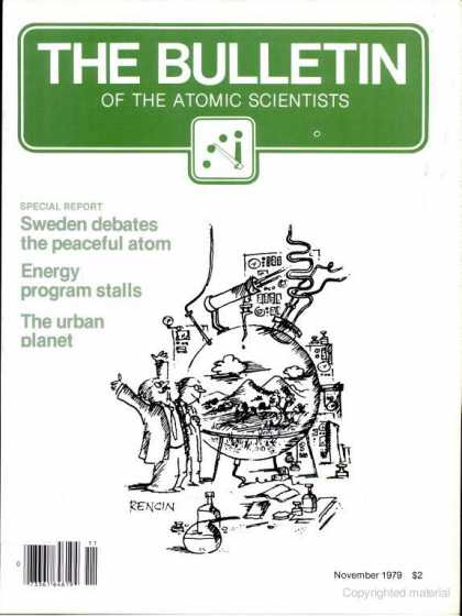 Bulletin of the Atomic Scientists - November 1979