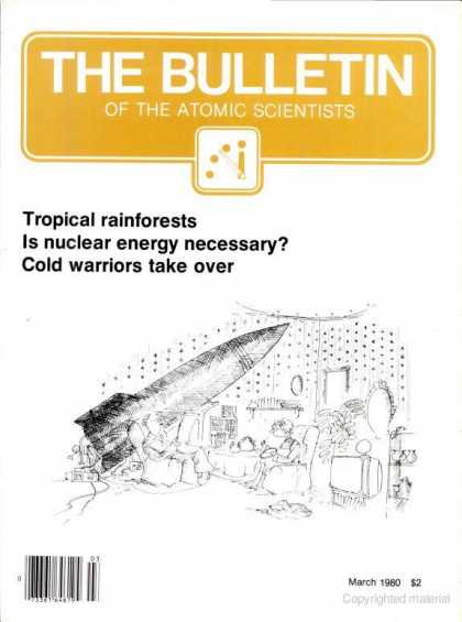 Bulletin of the Atomic Scientists - March 1980