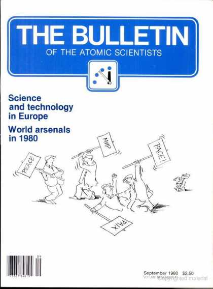 Bulletin of the Atomic Scientists - September 1980