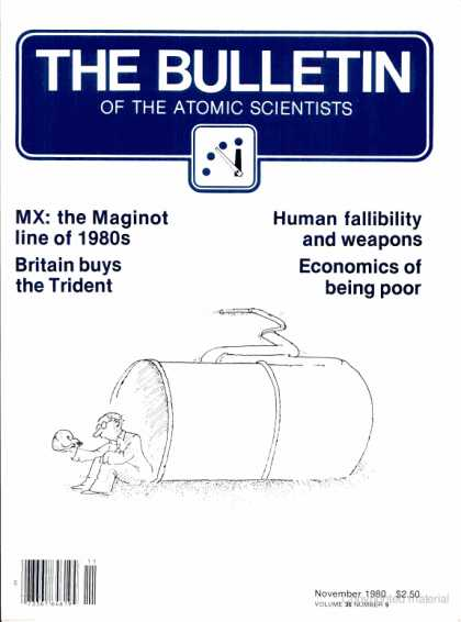 Bulletin of the Atomic Scientists - November 1980
