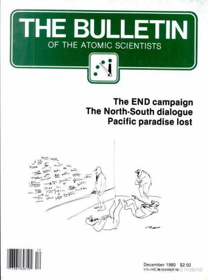 Bulletin of the Atomic Scientists - December 1980