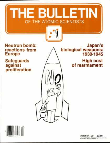 Bulletin of the Atomic Scientists - October 1981