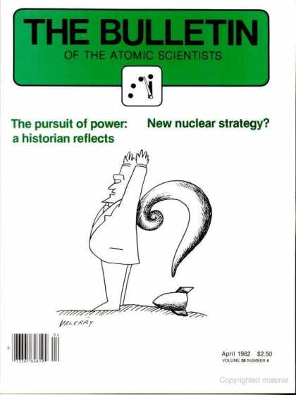 Bulletin of the Atomic Scientists - April 1982
