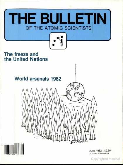 Bulletin of the Atomic Scientists - June 1982
