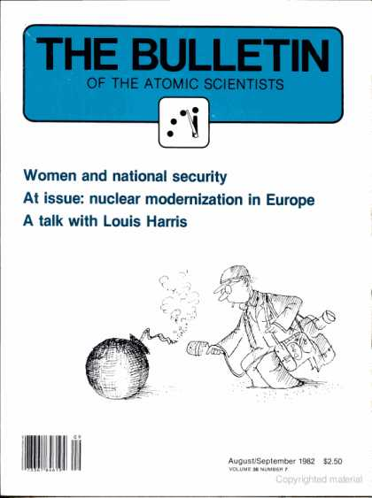 Bulletin of the Atomic Scientists - September 1982
