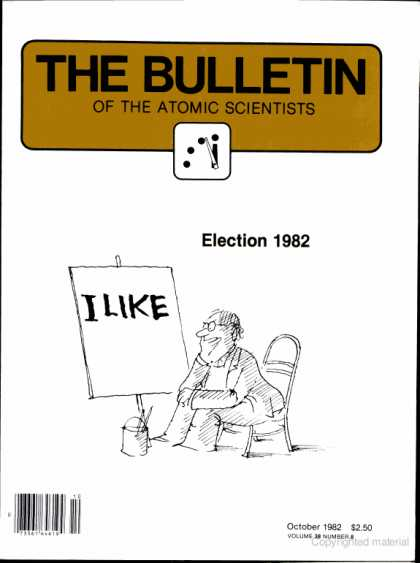Bulletin of the Atomic Scientists - October 1982