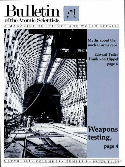 Bulletin of the Atomic Scientists - March 1983