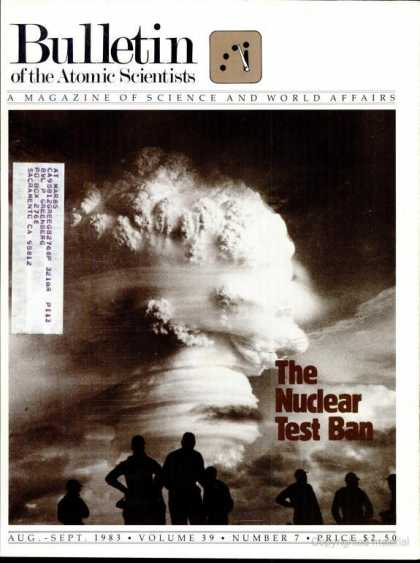 Bulletin of the Atomic Scientists - August 1983