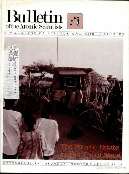 Bulletin of the Atomic Scientists - November 1983