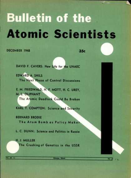 Bulletin of the Atomic Scientists - December 1948