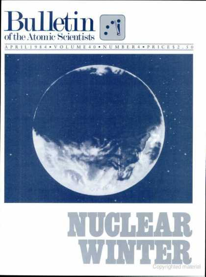 Bulletin of the Atomic Scientists - April 1984