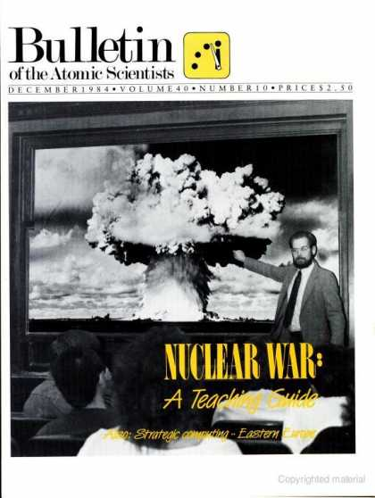 Bulletin of the Atomic Scientists - December 1984