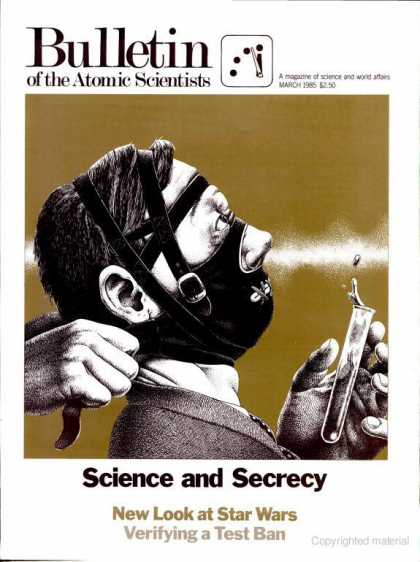 Bulletin of the Atomic Scientists - March 1985