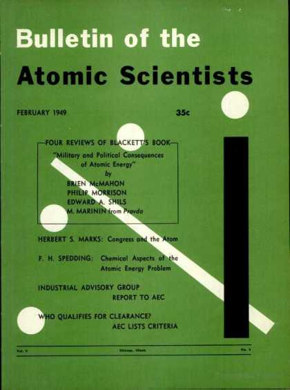 Bulletin of the Atomic Scientists - February 1949