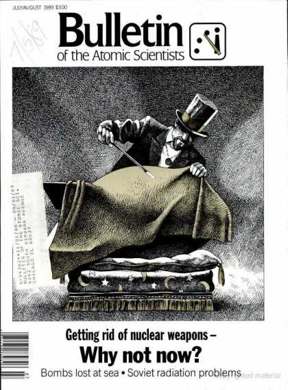 Bulletin of the Atomic Scientists - July 1989