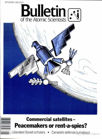 Bulletin of the Atomic Scientists - September 1989