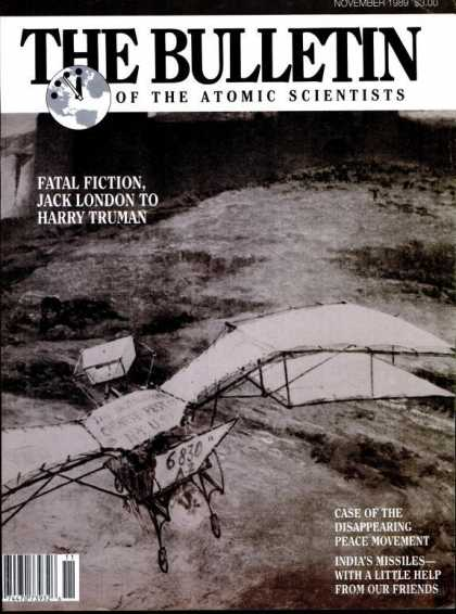 Bulletin of the Atomic Scientists - November 1989