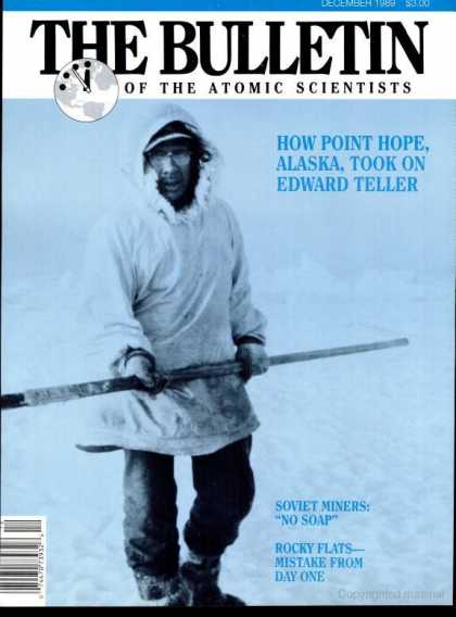 Bulletin of the Atomic Scientists - December 1989