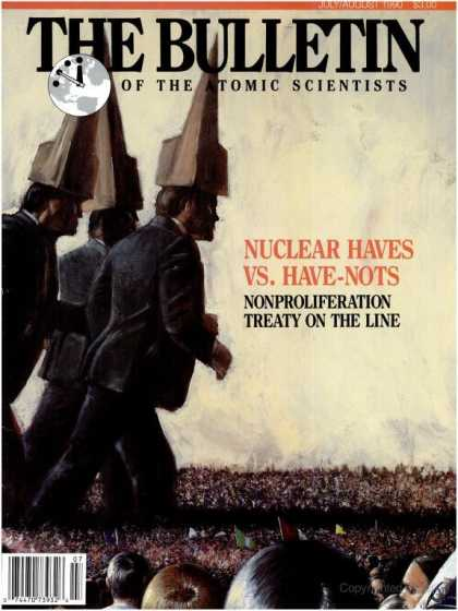 Bulletin of the Atomic Scientists - July 1990