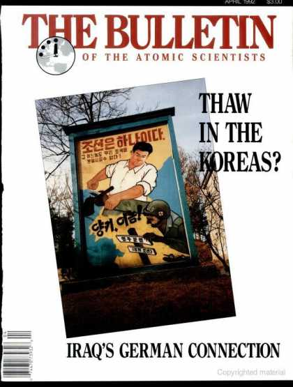 Bulletin of the Atomic Scientists - April 1992