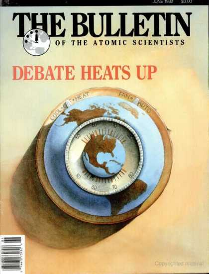 Bulletin of the Atomic Scientists - June 1992