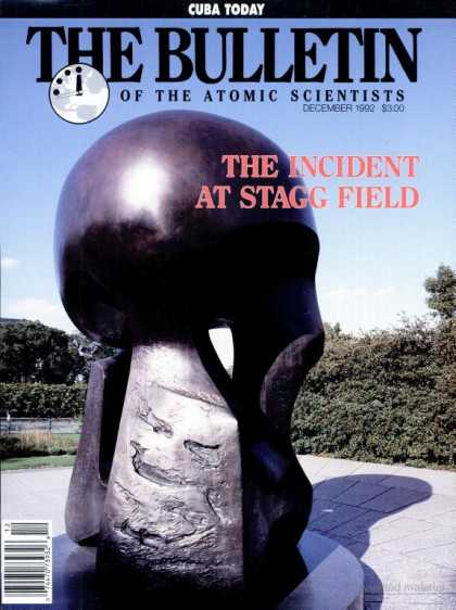 Bulletin of the Atomic Scientists - December 1992