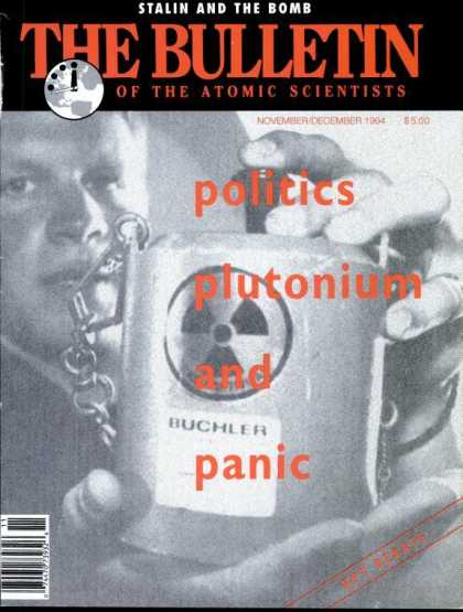 Bulletin of the Atomic Scientists - November 1994
