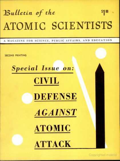 Bulletin of the Atomic Scientists - August 1950