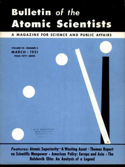 Bulletin of the Atomic Scientists - March 1951