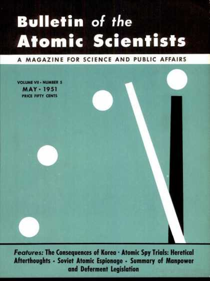 Bulletin of the Atomic Scientists - May 1951