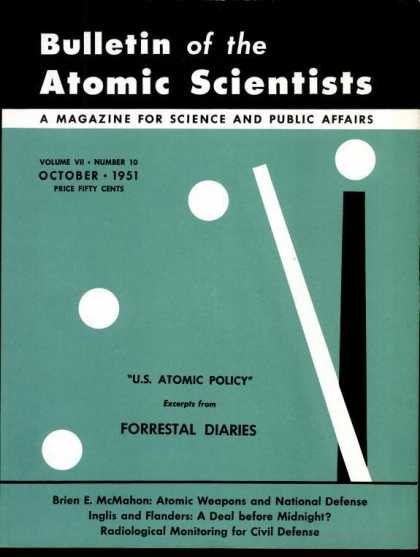 Bulletin of the Atomic Scientists - October 1951