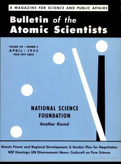 Bulletin of the Atomic Scientists - April 1952
