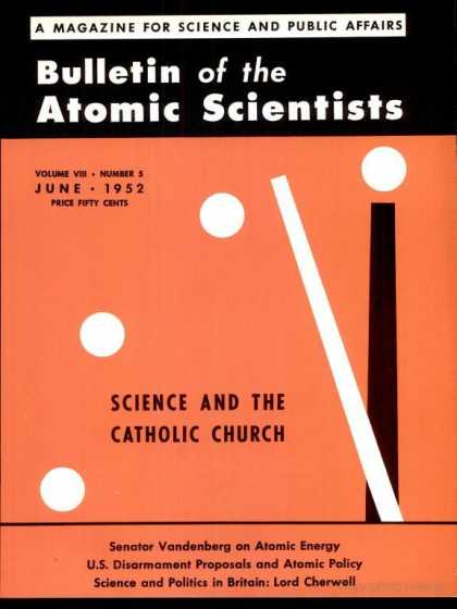 Bulletin of the Atomic Scientists - June 1952